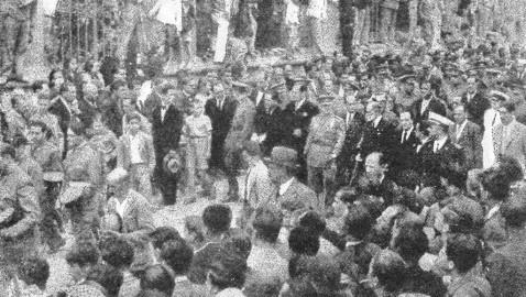 La fotografia que hizo el general Balmes al general Franco
