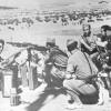 """La propaganda de guerra: un """"legionario sediento de sangre"""" en Badajoz"""