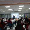 """Moisés Domínguez: """"Encuentros con autor"""" en un centro de Secundaria"""