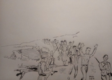«La cuerda de presos»: 23 y 24 de julio de 1938
