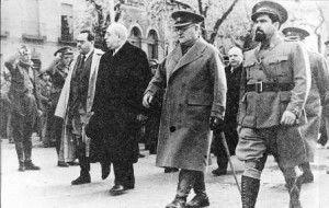 """Azaña, Negrin, Miaja y """"El Campesino"""" durante la Guerra Civil"""