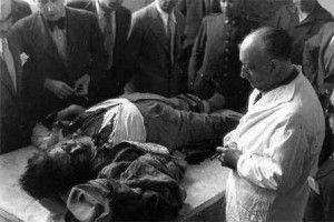 Calvo Sotelo, sacado de su casa por fuerzas a las órdenes del Frente Popular y asesinado
