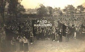 Concentración socialista: Oviedo, 14 de junio de 1936