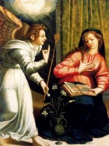 Luis de Morales: Anunciación (Catedral de Badajoz)