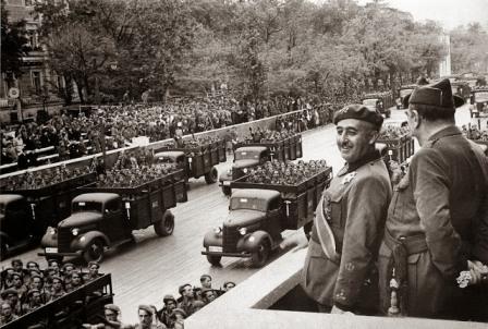 Resultado de imagen de desfile victoria 1939