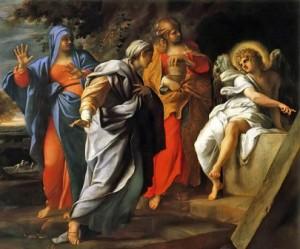 Anibale Carracci: Las santas mujeres
