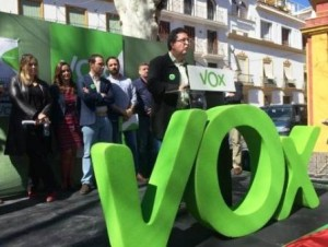 Mitin de Vox en Andalucia