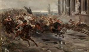 Ulpiano Checa: La invasión de los bárbaros