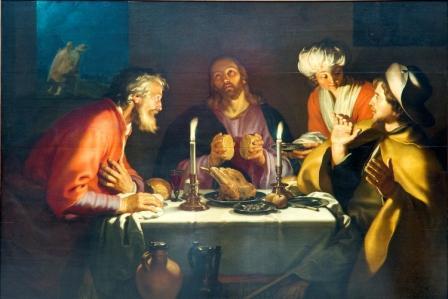 Abraham Bloemaert: Los discìpulos de Emaus