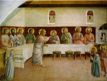 """Fra Angelico: """"La comunión de los Apóstoles"""""""