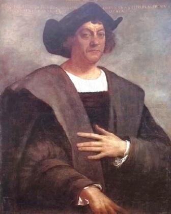 El genovés Cristóbal Colón, al servicio de la Corona de Castilla. Hay varios supuestos retratos y éste es el más probable que lo sea