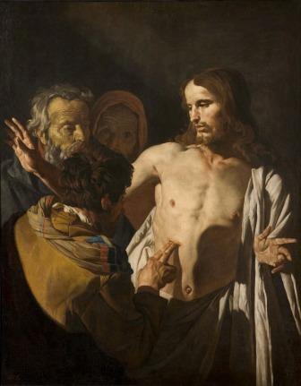 Matthias Stom: La incredulidad de Santo Tomás