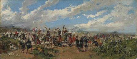 Mariano Barbasán: Batalla de Guadalete