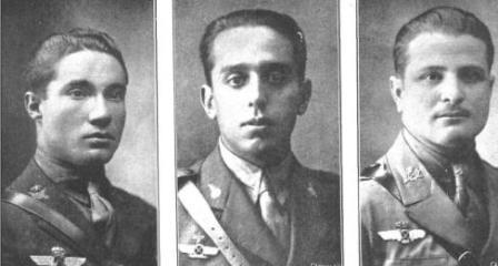 1.Don Eduardo González Gallarza. Capitán de Infantería 2.Don Joaquín Lóriga. Capitán de artillería. 3.Don Rafael Martínez Estévez. Capitán de Infantería
