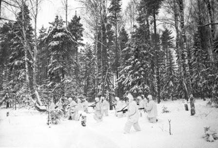 Guerra Rusia_Tropas nieve