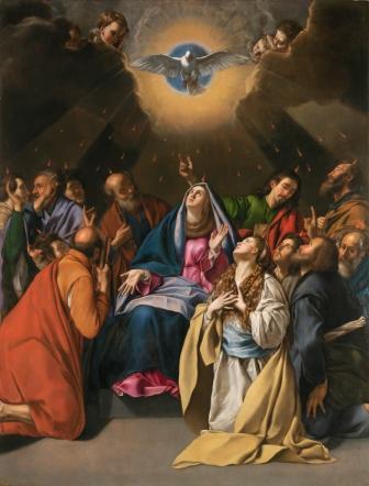 "Maino: ""Pentecostes"" (1620-1625; Museo del Prado)"