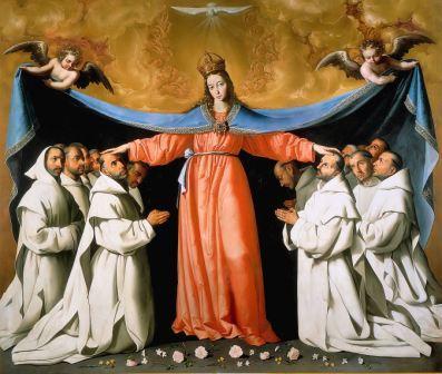 Zurbarán: Nuestra Señora de las Mercedes