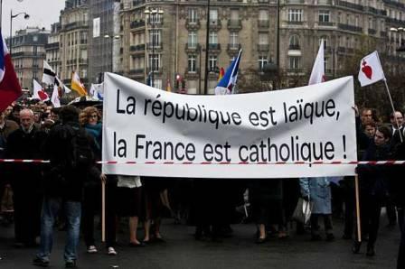 Francia laica y catolica