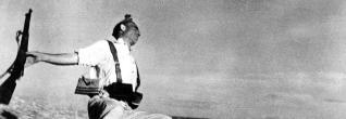 La famosísima fotografía en la que Robert Capa inmortalizó la muerte de un miliciano