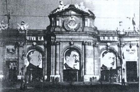Stalin en la Puerta de Alcalá madrileña: significativa expresión de la hegemonía comunista