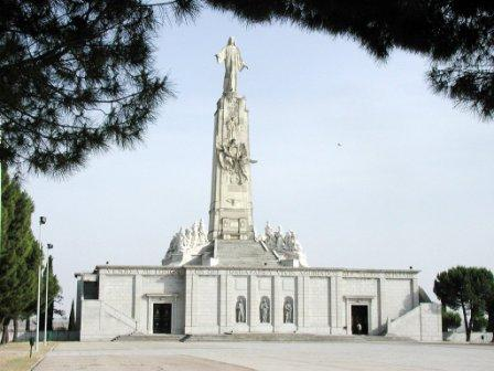 Monumento al Sagrado Corazón en el Cerro de los Ángeles