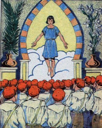 """Portada revista """"Pelayos"""" (20-junio-1937)"""
