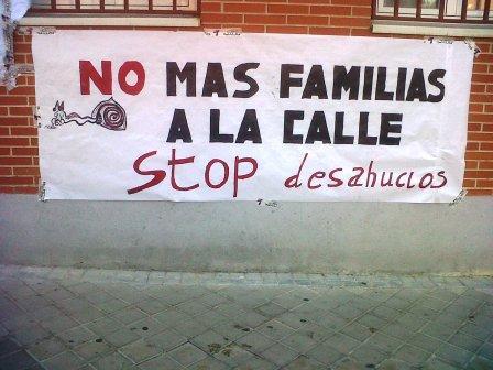 stop desahucios