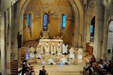Abadía benedictina de Le Barroux (Francia)