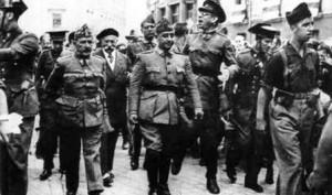 Burgos, octubre-1936: Franco y Mola