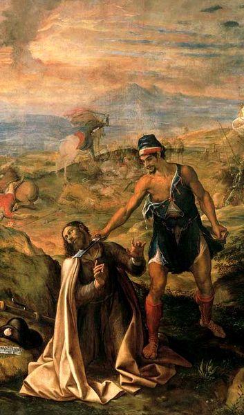 """Navarrete """"El Mudo"""": Martirio de Santiago (1571)"""