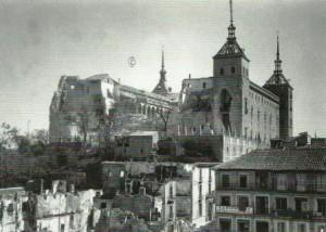 Alcazar de Toledo. Fachada Norte