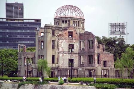 Hiroshima: Cúpula Genbaku, conmemorativo de la devastación nuclear