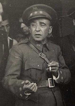 Coronel Puigdengolas en Guadalajara: julio de 1936