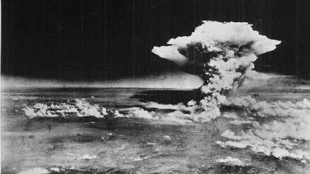 Explosión de la bomba atómica sobre Hiroshima (Museo Hiroshima Peace Memorial)