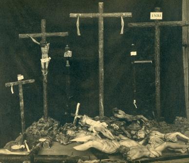 Algunas de las muchas profanaciones llevadas a cabo en las iglesias de Toledo