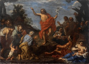 Predicación de San Juan Bautista (Pier Francesco Mola)