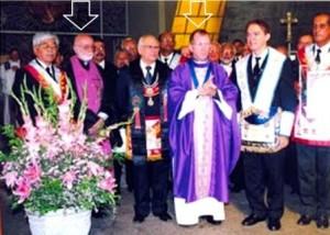 Eclesiásticos Masonería