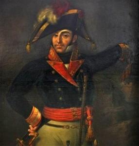 General Rafael Menacho, héroe de la defensa de Badajoz en la Guerra de la Independencia: +4 de marzo de 1811