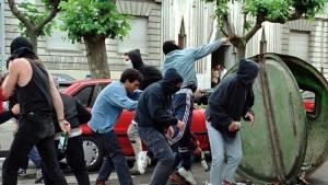 """""""Terrorismo callejero"""" en Pamplona"""
