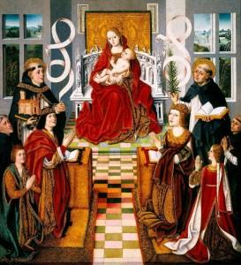 Virgen de los Reyes Católicos: c.1480
