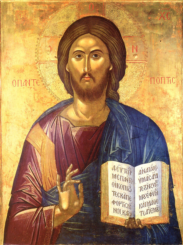 Jesús con Evangelio
