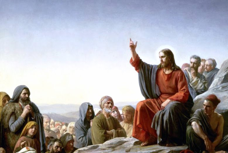 Jesús enseñando