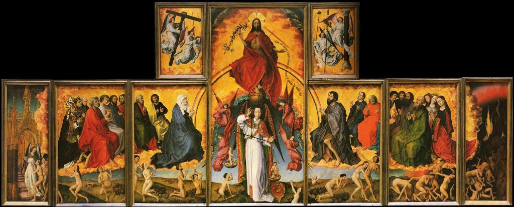 Poliptico Juicio Final Rogier van der Weyden