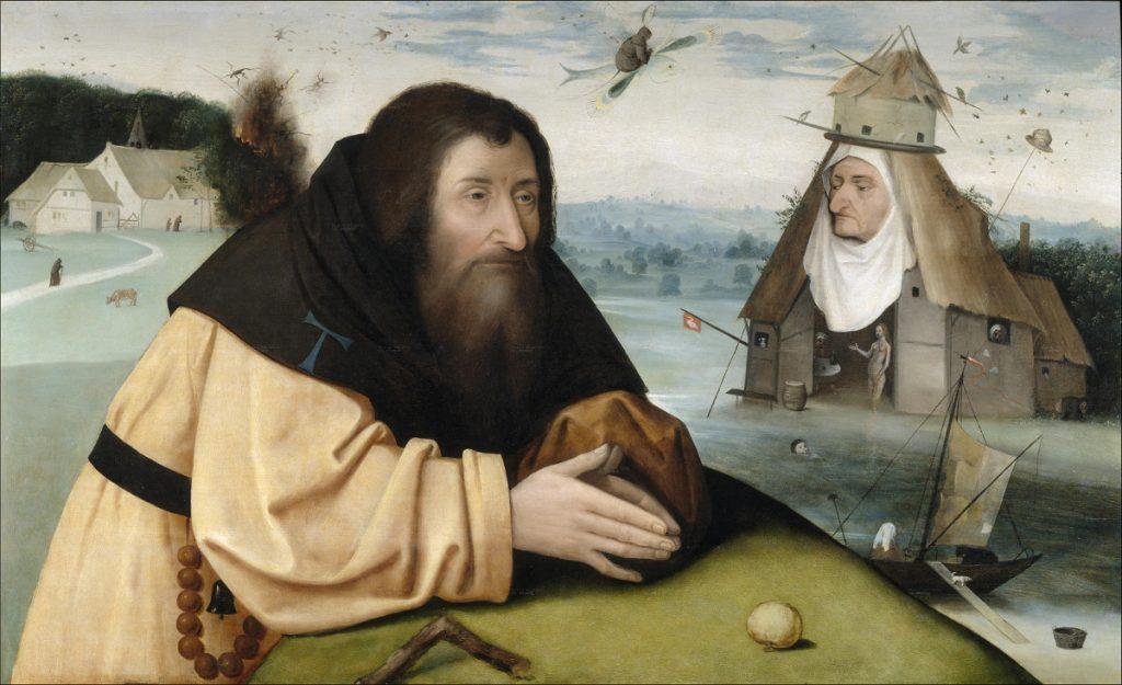 Tentaciones de san antonio abad