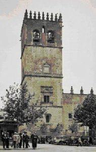 Catedral Badajoz, utilizada como reducto por los milicianos