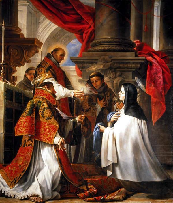 Comunión de Santa Teresa