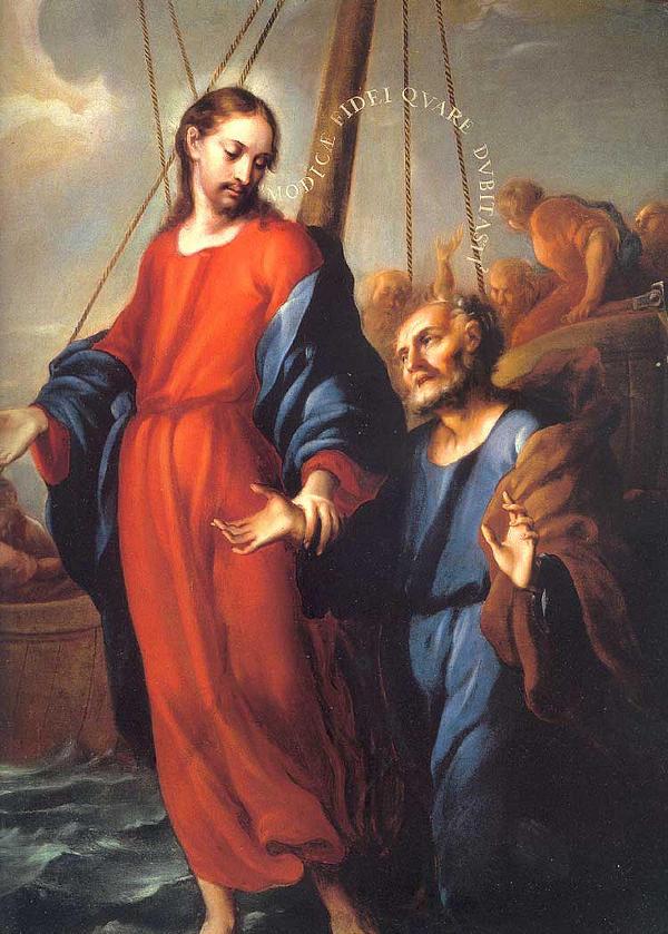 jesus-pedro-sobre-aguas-hombre-poca-fe