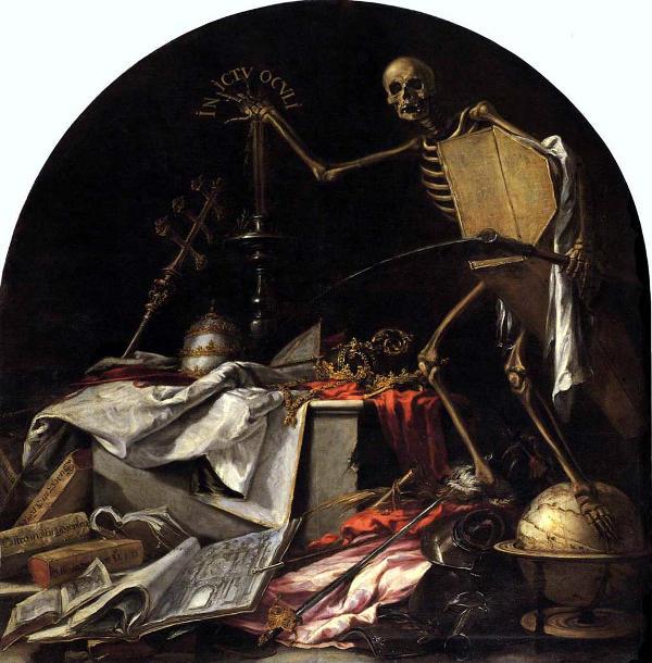 Jeroglífico de las postrimerías: In ictu oculi. Juan de Valdés.