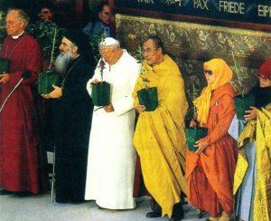 Juan Pablo II en Asís-1986