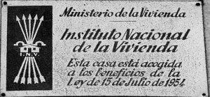 Placa Viviendas INV